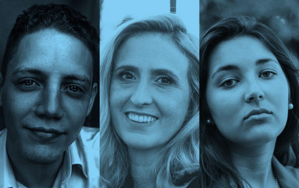 Tre människor